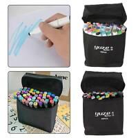 UK 40 Colors Sets Oil marker Pen Dual Headed Artist Sketch Copic Funny