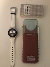SWATCH IRONY CHRONOMEDIUM UNISEX WATCH - NEW BOXED