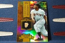 2013 Topps Willie Mays Chasing History Gold Holofoil SP Short Print Giants 🔥