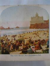 Stereoview The Cliff House San Fransisco California
