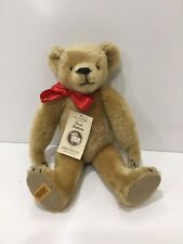 Vintage Merrythought Pure Mohair Bear Iron Bridge Shrops England 14� with tag