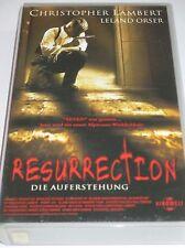 Resurrection - Die Auferstehung - VHS/Horror/Christopher Lambert/Leland Orser