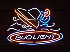"New Bud Light Snowmobile Beer Bar Neon Light Sign 24""x20"""