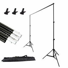 Abeststudio BSD00028 10ft Heavy Duty Adjustable Photography Background Support Stand Kit with Case