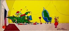 How The Grinch Stole Christmas Cel Santa Claus Why? Rare Edition Cindy Lou Cell