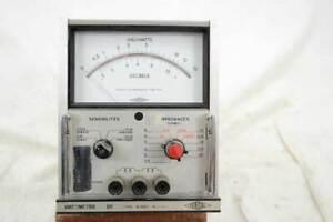 Wattmeter für den Audiobereich -5 bis 40dB, Ferisol Type N30C, Leistungsmesser