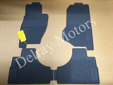ALL WEATHER VINYL RUBBER SLUSH FLOOR MATS 2005-2007 JEEP LIBERTY OEM BRAND NEW