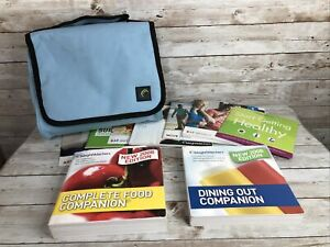 Weight Watchers Points Program Complete Food Dining Out Companion  2008 W/cd Bag