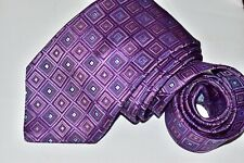 Men's John W. Nordstrom Purple Silk Neck Tie Made in USA
