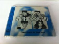 Worlds Apart I was born to love you (Freddie Mercury-cover version, .. [Maxi-CD]
