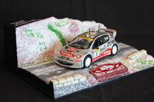 Norev Peugeot 206 WRC 2001 1:43 #1 Grönholm / Rautiainen Rally Monte-Carlo (AK)