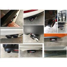 76mm ID/89mm OD Exhaust Tips Car Akrapovic Carbon Fiber Muffler Pipes 1pcs