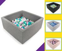 Tweepsy Baby Corner Foam Ball Pit with 250 Plastic Balls - BKWZ1