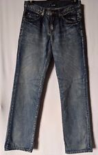 """WOMENS JEANS RUSTY DISTRESSED COTTON SIZE 9/27"""" LEG 31"""" NWT RRP $99.99 FREE POST"""