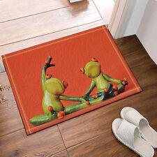 Kitchen Bath Bathroom Shower Floor Home Door Mat Rug Non-Slip Two frogs new