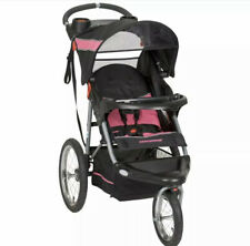 Baby Trend Stroller Jogging Running All Terrain Tires Storage Lightweight Pink