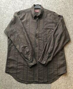 Marlboro Classics Mens Brown Shirt X-Large