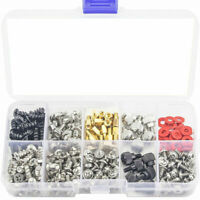 300X Personal Computer Screw Standoffs Set For Hard Drive Case Motherboard Kit#G