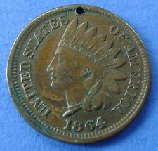 1864 USA America 1 Cent 1864 (type 2) Indian Head KM# 90a