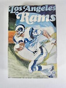 """Vintage 1971 Los Angeles Rams Springbok Jigsaw Puzzle 7"""" x 10"""" Puzzle"""