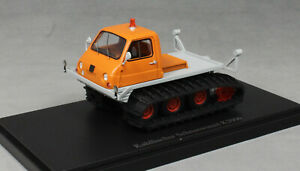 Autocult Kahlbacher Schneewiesel (snow weasel) K2000 in Orange 08005 1/43 NEW