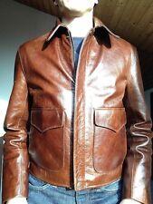 Original WESTED Indiana Jones Lederjacke, braun, Größe Medium, NEU! Indy Jacket