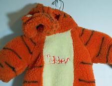 Tigger Costume Plush 1 pc Hooded Size 12 - 24 Months Disney Store Halloween