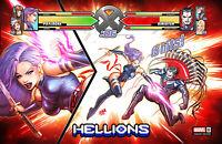 HELLIONS #6 (DAVID NAKAYAMA EXCLUSIVE VARIANT) Comic Book ~ Marvel Comics