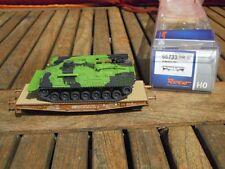 Roco 66733 Schwerlastwagen DSB beladen mit getarntem Bergepanzer Dänische Armee