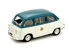 FIAT 600 MULTIPLA GIOCHI OLIMPICI ROMA 1960 SCALA 1/43 S04/05 BRUMM PROMO