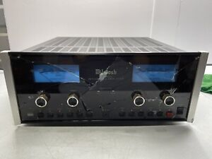 McIntosh MA 6500 Integrated Stereo Amplifier Working With Damaged Glass *READ*