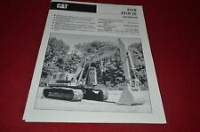 Caterpillar 225SA Custom 180 Hydraulic Excavator Dealer's Brochure DCPA6 ver3