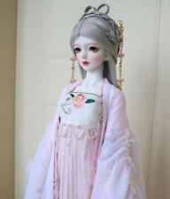 1/3SD 1/4MSD BJD Clothes Archaic Fairy Suit Chiffon Top&UnderDress&Outwear #K