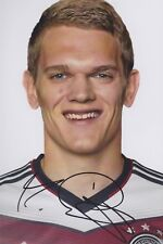 MATTHIAS GINTER 1 DFB EM WM 2014 2018 Foto 13x18 signiert IN PERSON Autogramm
