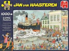 JUMBO JIGSAW PUZZLE ST NICOLAS PARADE JAN VAN HAASTEREN 1000 PCS CARTOON #19055