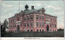 BUTLER, Indiana  IN    HIGH SCHOOL    DeKalb County   190?     Postcard