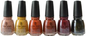 China Glaze Nail Lacquer - AUTUMN SPICE Fall 2021 Collection Pick Color 0.5oz