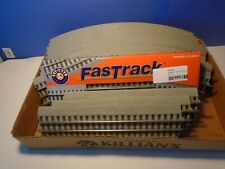 LIONEL FASTRACK 036 CURVED AND STRAIGHT TRACK. MAKES ONE OVAL.. BRAND NEW