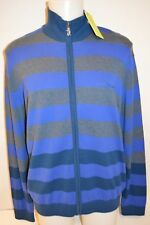 VERSACE JEANS Man's WOOL Blend FULL ZIP  Sweater NEW  Size X-Large  Retail $330