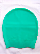 DreadLab - Extra Large Swim Cap (Caribbean Green) Dreadlocks / Extensions