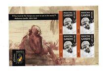 Nevis 2011 Indipex Gandhi 4 x $3 sheetlet of MNH postage stamps