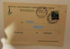 storia postale repubblica annulli postali cartoline commerciali 1950