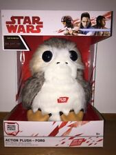 Star Wars The Last Jedi: Life-Sized Interactive Action Porg Plush New In Hand