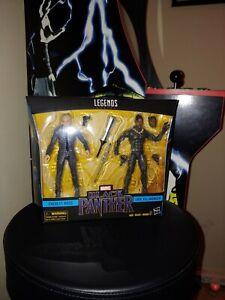 Marvel Legends Black Panther 2 Pack Ross y Killmonger