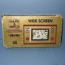 Vintage 1981 Nintendo Game & Watch Parachute Pr-21 pantalla única de Mano En Caja