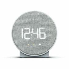 Capello Round Time Table Digital Clock - Gray New In Box