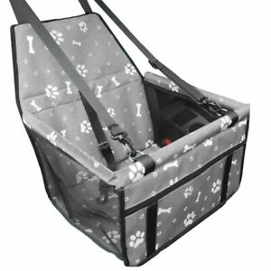 Dog Car Seat For Pet Booster Travel Cat Box Bag Basket Carrier Hammock Chair Us