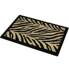 GRANDE 70 x 40 cm Zebra Stampa Animalier ingresso in / per esterni tappetino
