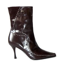 NEU Buffalo London 41 Stiefeletten Lederstiefel Leder booties Stiefel boots