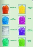 Hydro Gel CRISTALLI IN Gel x Piante Fiori Terriccio Irrigazione colori 5gr new